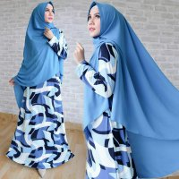 hijab set - gamis syari -maxi dress + bergo model terbaru part 22