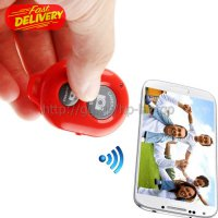 Tomsis Bluetooth 3.0 Remote AB Shutter for Smartphone - Red OMSC0NRE