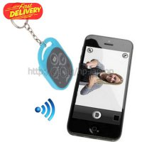 Tomsis Ipega Bluetooth Remote Control Self Timer for Smartphone - PG-9019 - Baby Blue IASC01BB