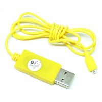 USB Cable to 2 Pin for Samsung Galaxy S5 - Yellow