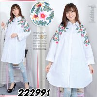 [BLOUSE] TUNIK KATUN BIGSIZE FIT TO XXXL KODE 222991
