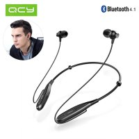 Original QCY QY25 Sport Music Neckband Wireless Bluetooth Earphone Headphone With Vibration Function