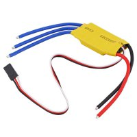 30A Brushless Motor Speed Controller RC BEC ESC T-Rex 450 V2 Helicopter Boat F5
