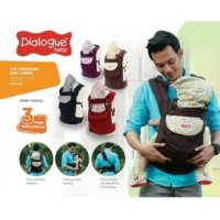 (Limited) DIALOGUE BABY CARRIER/ GENDONGAN BAYI RANSEL ERGO 3IN1 DGG4130