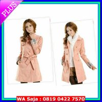 (Coat) Long Coat Combi Burberry TERRY