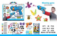 NEW! Pistol Thorn Ball Guns Bunchems Mainan Edukasi Edukatif Anak Game