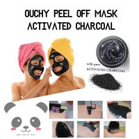OUCHY PEEL OFF MASK with 100% ACTIVATED CHARCOAL