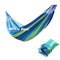 Kasur Gantung Camping / Single Hammock Colorful Wide Series