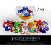 7pc Transformers Action figure set -Robot Transformer