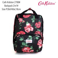 Tas Ransel Import Fashion Backpack Basic 2in 1 2788 - 10