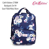 Tas Ransel Import Fashion Backpack Basic 2in 1 2788 - 13