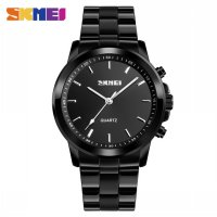 SKMEI Jam Tangan Analog Smartwatch Bluetooth Fitness Tracker - 1324 - Black