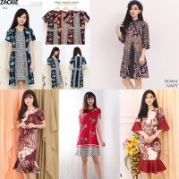 Dress Batik - Model Dress Batik Modern Terkini  0752548ce3