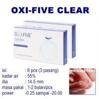 Softlens Oxi Five Clear