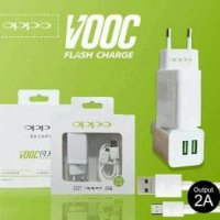 Charger OPPO VOOC FAST CHARGING Adaptor 2 Ampere 2 Port Usb ORI 99%