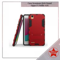Case Ironman Oppo F1 Selfie Expert A35 Series With Kick Stand