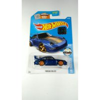 (LIMITED) Hot Wheels Porsche 993 GT2 Biru TH$ Ban Karet Factory