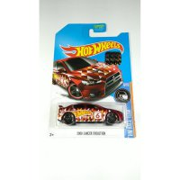 (DISKON) Hot Wheels 2008 Lancer Evolution Merah Kmart Exclusive