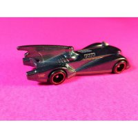 (PROMO) Hot Wheels Batmobile loose TH$ 2017 ban karet