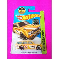 (READY) Hot Wheels 71 Datsun Bluebird 510 Wagon Kuning FS