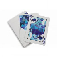 Kartu Remi Poker Import Memento Mori Blue Playing Cards
