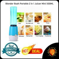 (LIMITED) ( FREE ONGKIR ) Blender Buah Portable 2 in 1 Juicer Mini