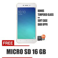 OPPO A37 4G LTE 2/16 - Rose Gold Free Micro SD 16 GB