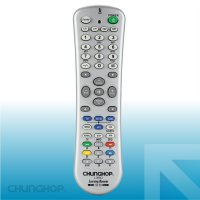 Chunghop Universal Smart Remote Control Learn Function for TV DVD CBL SAT - L350 - Silver