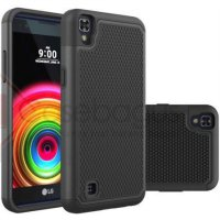 2in1 Full Protection Armor Hard Soft Case - LG X Power K220Y