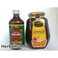 Cuka Apel Malang - Apple cider vinegar 300ml + Madu al Shifa 500gr