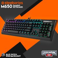 SteelSeries APEX M650 Blue switch Grey based