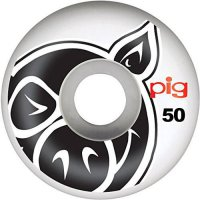 [macyskorea] PIG Pig Head Natural 50mm Skateboard Wheels (Set Of 4)/7219046