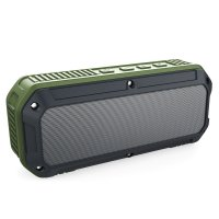 Aukey Outdoor Waterproof Stereo Bluetooth Speaker Dual 3W Driver - SK-M8 - Hitam