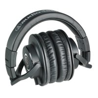 (Star Product) Audio Technica ATH-M40X Professional Monitor Headphones - Hitam