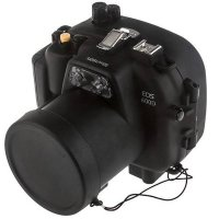 Meikon Waterproof Camera Case for Canon 600D - Black