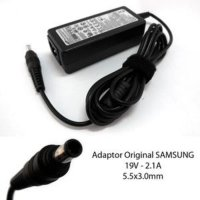 Adaptor Charger Laptop Samsung 19V -2,1A Pin Central Original