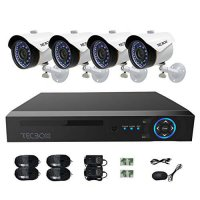 [macyskorea] TECBOX CCTV Camera Video Security System 4 Channel AHD DVR with 4 HD 720P Out/15776207