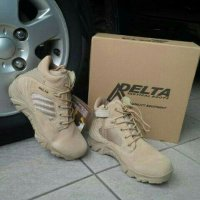 (READY) SEPATU TACTICAL GEAR,ARMY ,DELTA 6 INCI