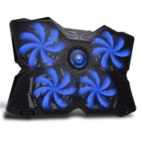 MARVO FN-30 Laptop Powerful Gaming Cooling Pad - Biru