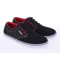 Catenzo Junior Sepatu Anak Sneakers & Casual CMRx302 Black Red