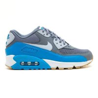 (READY) Sepatu Nike Air Max 90 Essential Grey Blue Women Original