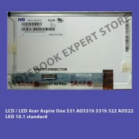 LCD / LED Acer Aspire One 531 AO531h 531h 522 AO522 LED 10.1 standard