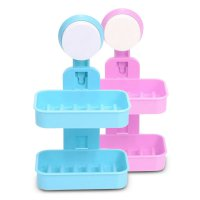 Tempat Sabun 2 Tingkat - Double Layer Soap Box