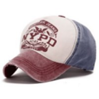 Topi Baseball Snapback NYPD Sport Fashion - Brown Canvas