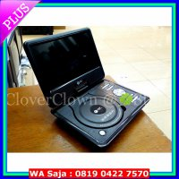 (Diskon) DVD Portable Tori 10inch - DVD / Mp3 / USB Movie / MMC / TV / Game