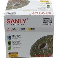 [ SANLY] Lampu LED Emergency SANLY SY-315 Remote Control 32 LED SMD