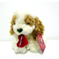 Boneka Anjing Dog Original Russ Puddin I woof You