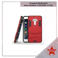 Case Ironman Asus Zenfone 3 ZS550ML 5,5 Inc Series With Kick Stand
