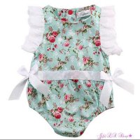 P.R.O.M.O Jumpsuit bayi import #Flower with bow