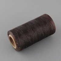 waxed leather thread - benang jahit kerajinan kulit - coffee